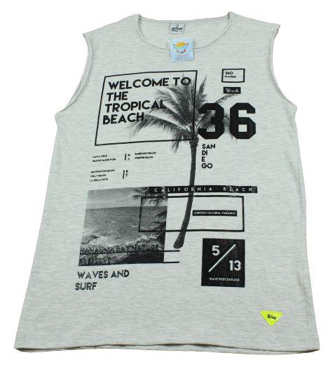 camiseta regata abrange way tamanho 14