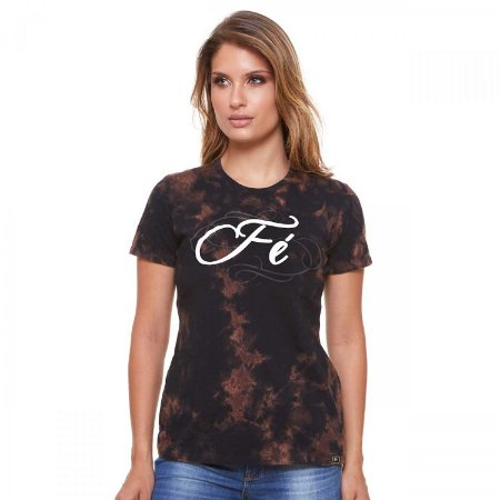 Camisa Feminina Fé (disponível P)