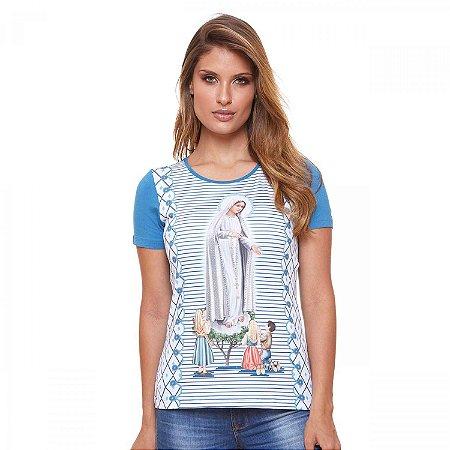 Camisa Nossa Senhora de Fátima (disponível G e GG)
