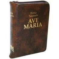 Bíblia Ziper Ave Maria de Bolso