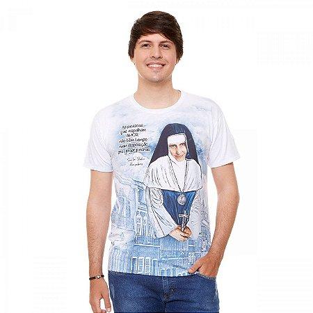 Camisa Santa Dulce dos Pobres (disponível P, M, G e GG)