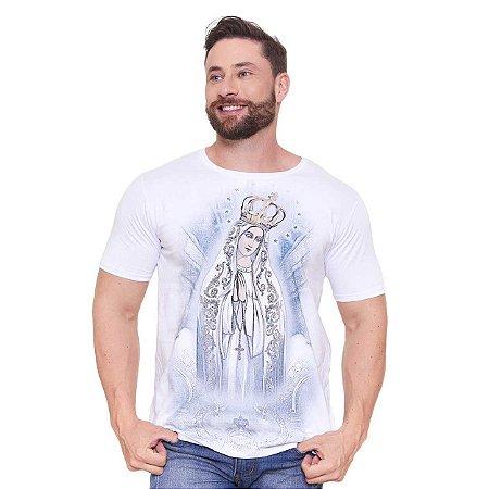 Camiseta Nossa Senhora de Fátima (disponível G3)
