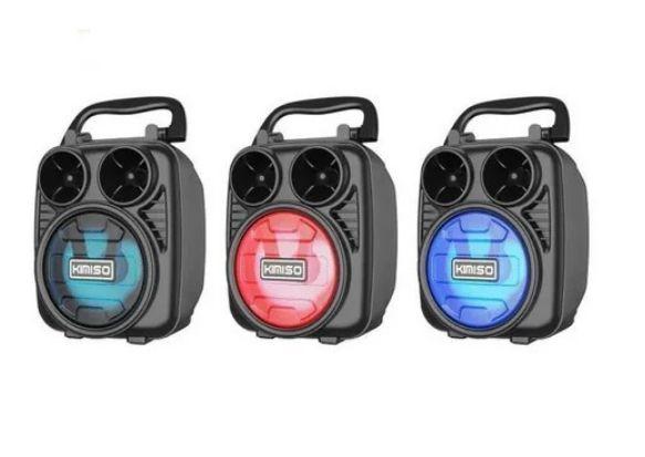 Caixa de Som Portátil Wireless Bluetooth Kimiso KMS-1182 M7