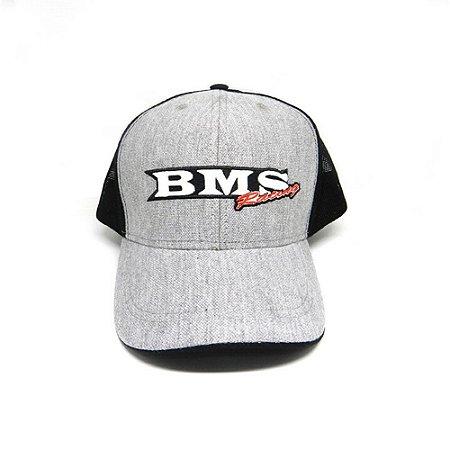 Boné Americano Bms Racing Cinza - 47333