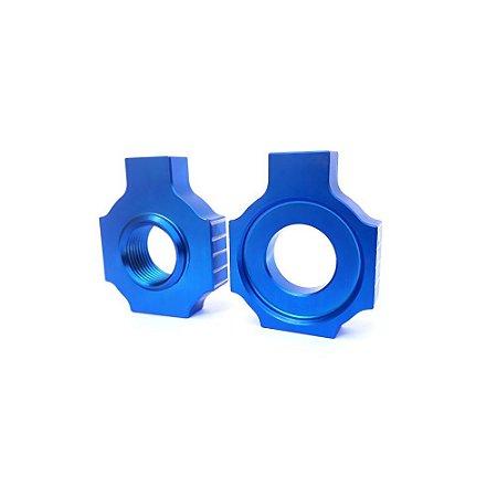 Esticador De Corrente Bms Azul Ktm Enduro Cross - 45626