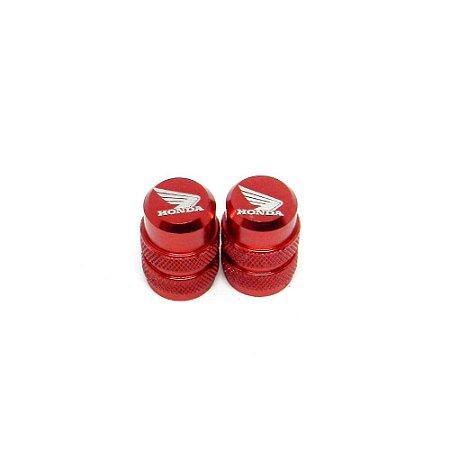 Tampinha Câmara De Ar Honda Bms Vermelha - 01939