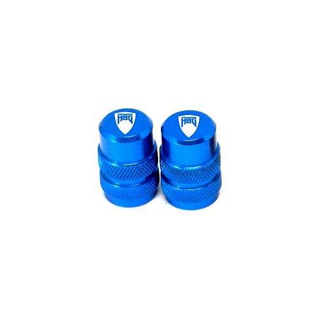 Tampinha Câmara De Ar Husaberg Bms Azul - 01943