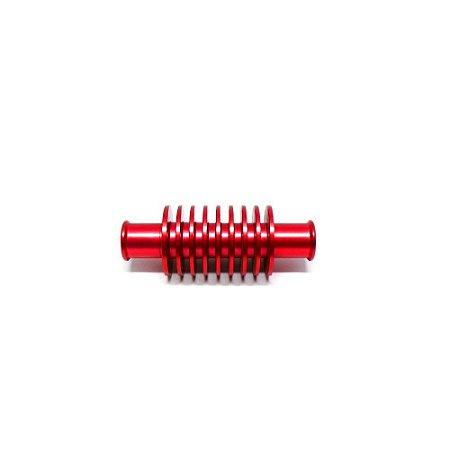 Dissipador De Calor Curto Para Radiadores Bms Vermelho - 46406