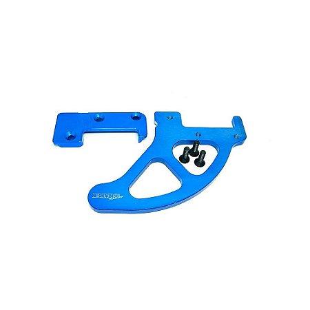 Protetor De Disco Traseiro Bms Azul Ktm Husa Husqvarna - 46294
