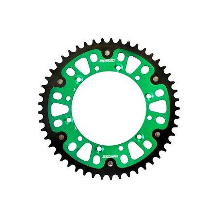 Coroa Kawasaki Kxf 49 Dentes Verde Supersprox - Rst-460:49