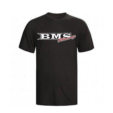 Camisa de Malha Bms Racing - Preta