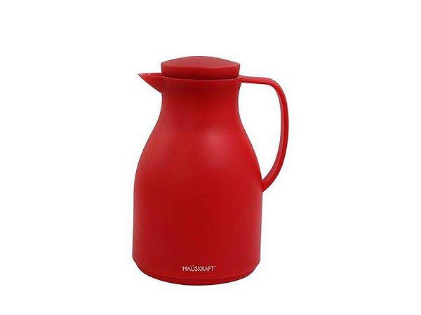 Garrafa térmica Café Basic 1L Vermelho