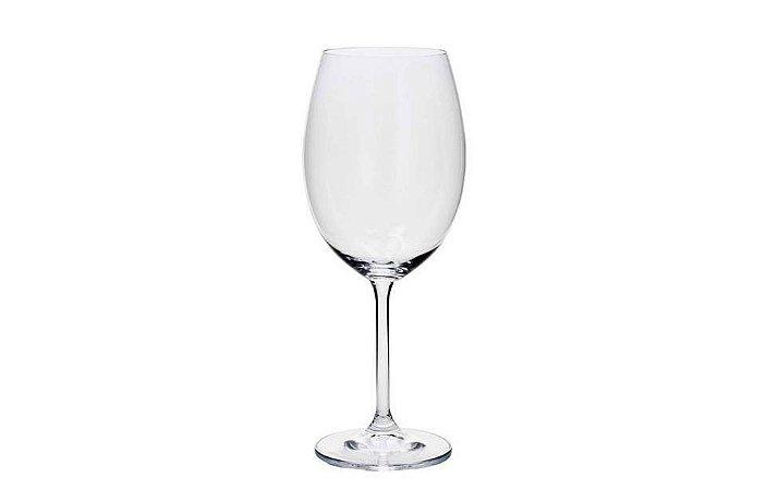 Taça em Cristal para Água ou Vinho Tinto Gastro Cristal 580ml Bohemia