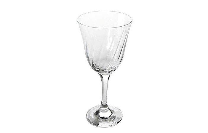 Taça  em Vidro Para Água Lirio 350ml Nadir