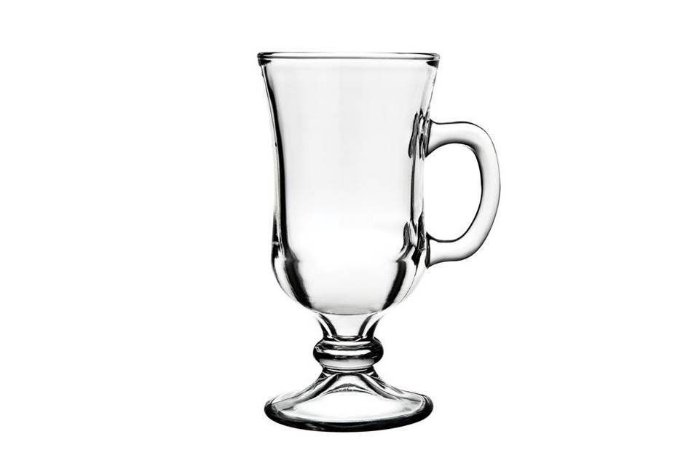 Taça em Vidro Nevada Irish Coffee 240ml Nadir