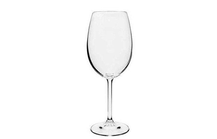 Taça em Cristal com Titânio para Vinho Tinto Gastro 450ml Bohemia