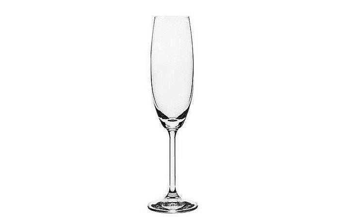 Taça cristal Champagne  Gastro 220mL Bohemia