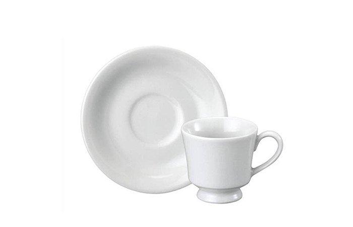 Xícara em Porcelana para Café com Pires 60ml Itamaraty Schmidt