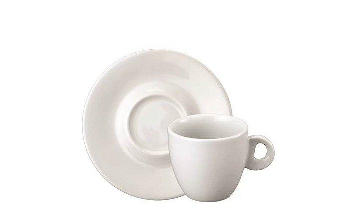 Xícara em Porcelana para Café ou Leite com Pires 230mL Sofia Schmidt