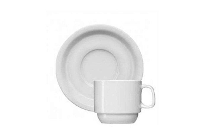 Xícara em Porcelana para Chá com Pires Iguacu  Germer