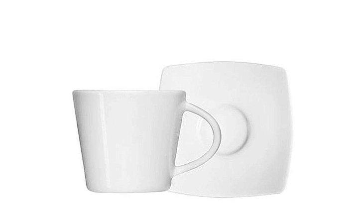 Xícara em Porcelana para Chá com Pires 190mL Oriental    Germer