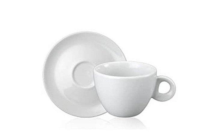 Xícara  em Porcelana para Chá Sofia com Pires 160mL Schmidt