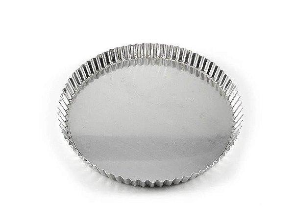 Forma Crespa em Alumínio Altura 22cmX4cm Caparroz