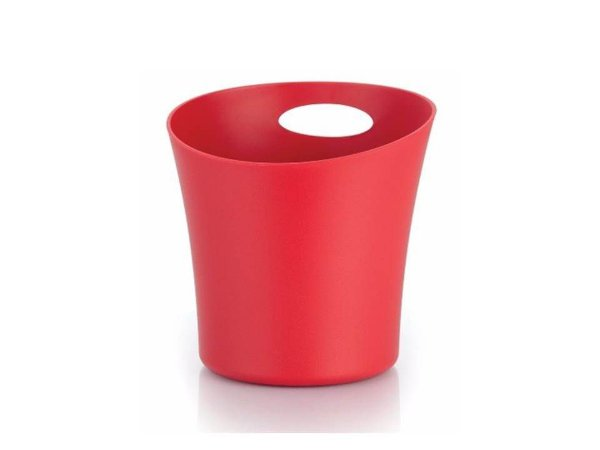 Balde para Gelo em Plástico Vermelho 1,4L OU