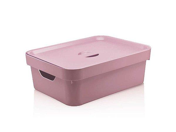 Caixa Organizadora em Plástico com tampa Cube Rsqf Ou