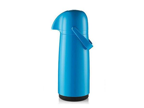 Garrafa Térmica Plástica Azul Expressar 1Lt Sanremo