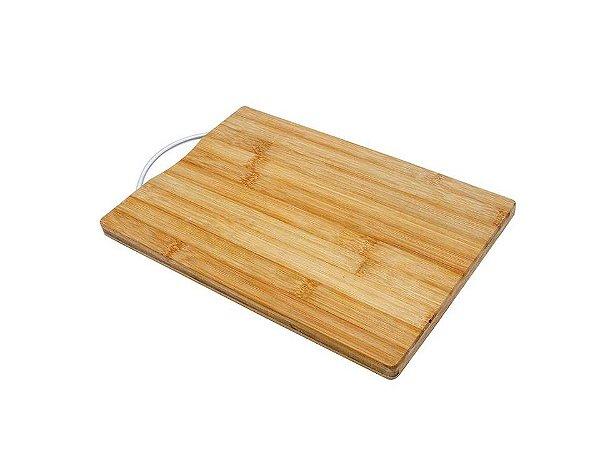 Tábua de Corte de Bambu Gourmet Ecokitchen 22cmX32cm Mimo
