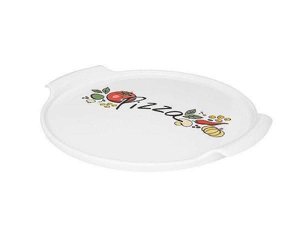Forma para Pizza em Porcelana 35cm Oxford