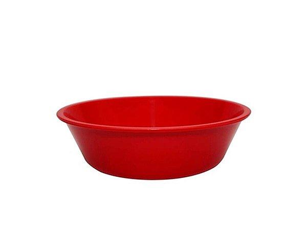 Bowl Basic em Polipropileno Vermelho 2Lt Vemplast