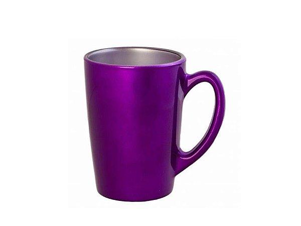 Caneca em Vidro Temperado Flashy Blueberry Cup 320 ml Luminarc