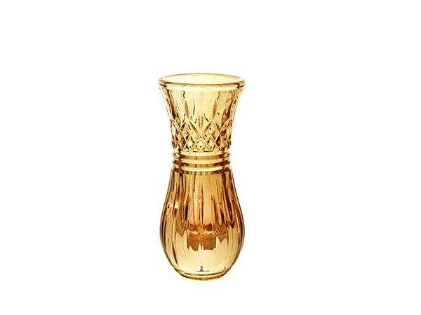 Vaso em Cristal Ambâr Lys Rojemac