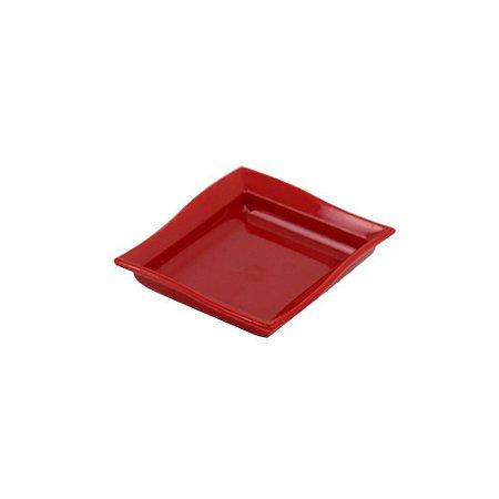 Molheira para Shoyu em Prolipopileno Vermelho 60ml