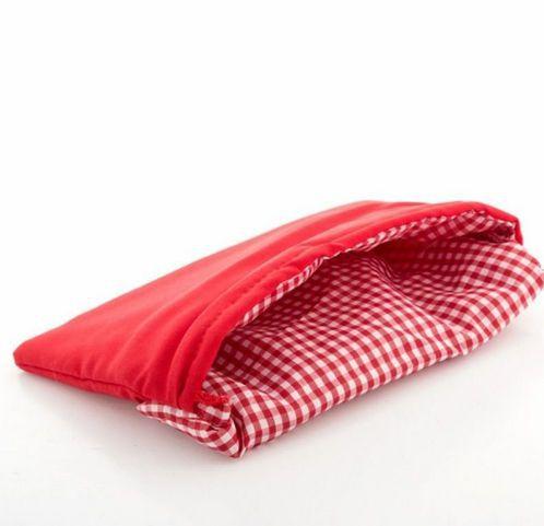 Saco para Assar Batata Microondas Vermelho