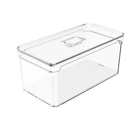 Organizador Clear Fresh Natural 5L 30x15x13