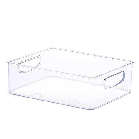 Caixa Organizadora modular transparente com alças Diamond