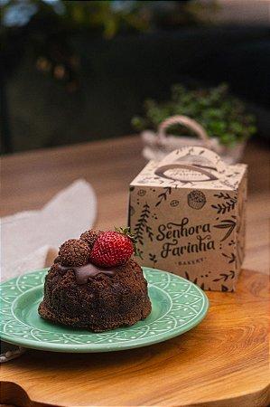 Vulcão de Chocolate Pequeno Embalado