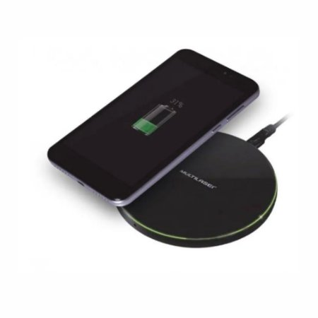 Carregador Concept Wireless Ultra Rápido10w Cb130 Multilaser.