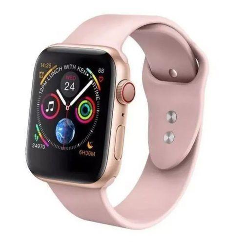 Relógio Smartwatch Iwo 8 Lite W34s 44mm ROSE Ios/android