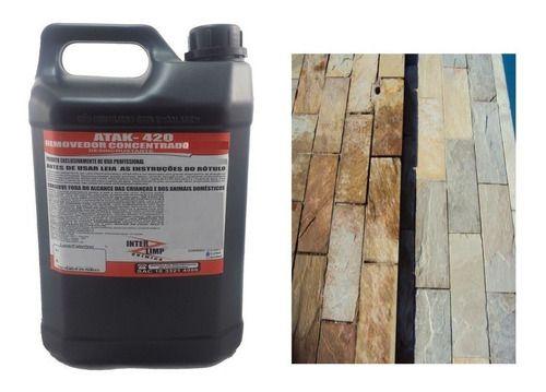 Acido Limpa Pedra Concentrado Desincrustante Removedor 5lts