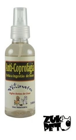 Spray Anti Coprofagia Caes Evita Ingestao Fezes 100ml