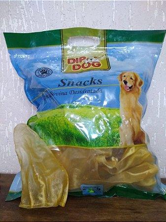 Brinquedo Para Cães Mordedor Natural Orelha Bovina Desidrata