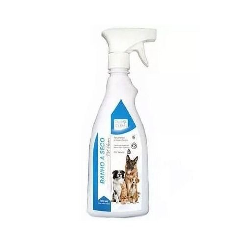 Banho A Seco Para Cães E Gatos Pet Clean Liquido 500 Ml