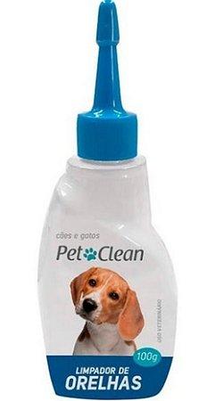Limpeza Ouvido Orelha Cães Gatos Petclean Em Gel 120ml