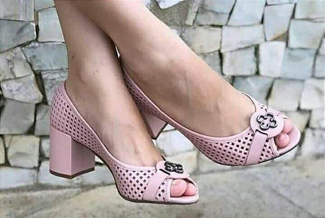 Sapato Couro Atanado Cubo Capodarte
