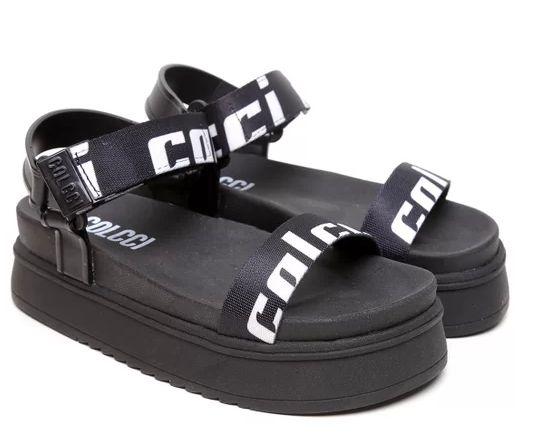 Sandália flatform básico Colcci