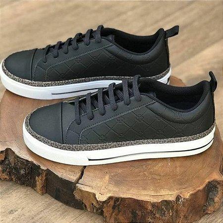 Sapato Sintetico de Monograma